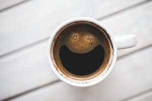the right amount of caffeine can make you happier