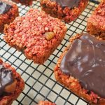 Beetroot and Fig Flapjacks