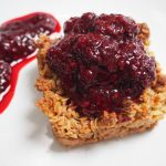 Blackberry Flapjacks