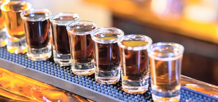 Drinking shots makes you beautiful - Picture of bar ...
