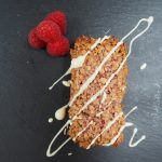Raspberry and White Chocolate Flapjacks
