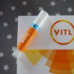 Packaging shot for VITL DNA health test
