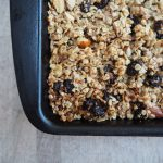 Simple Muesli Flapjacks
