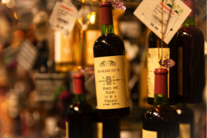 a selection of bordeaux wines