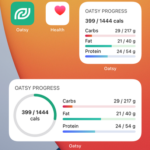 Oatsy nutrition tracking app